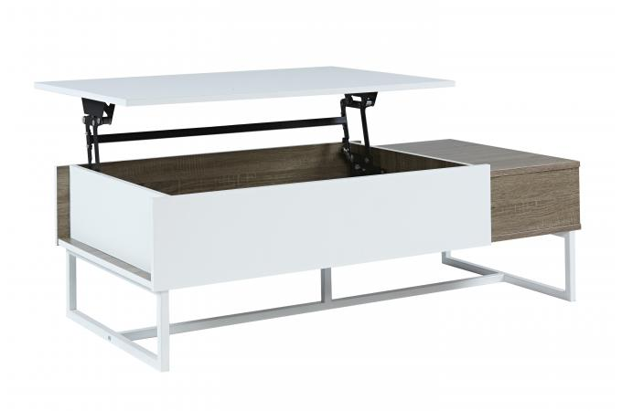table basse avec plateau relevable ulti table basse pas cher. Black Bedroom Furniture Sets. Home Design Ideas