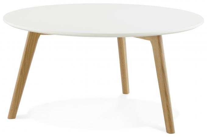 Table basse scandinave blanche pas cher - Table basse ronde pas chere ...