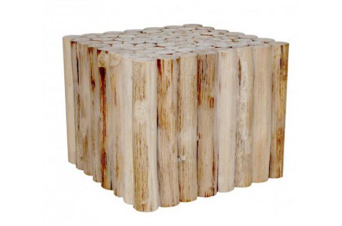 table basse rustique en bois massif silvest table basse pas cher. Black Bedroom Furniture Sets. Home Design Ideas