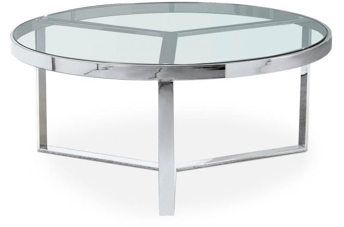 table basse en verre et m tal primi table basse pas cher. Black Bedroom Furniture Sets. Home Design Ideas