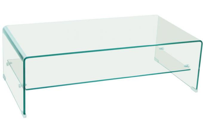 Table basse en verre transparent clear table basse pas cher - Table basse design pas cher verre ...