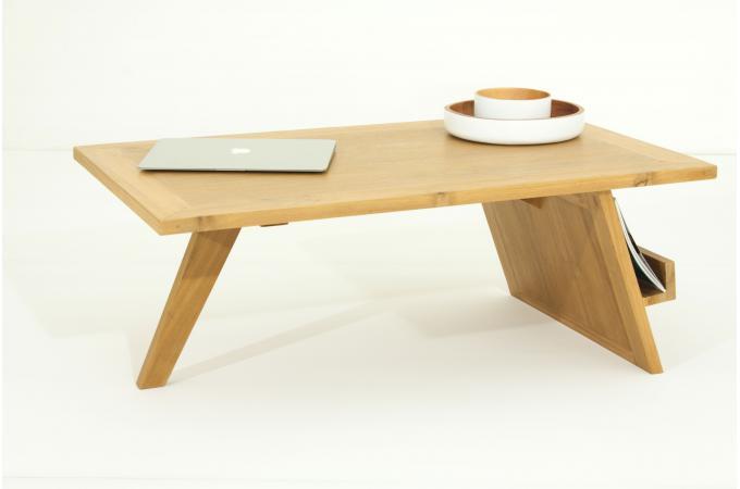 table basse matteo en teck massif table basse pas cher. Black Bedroom Furniture Sets. Home Design Ideas