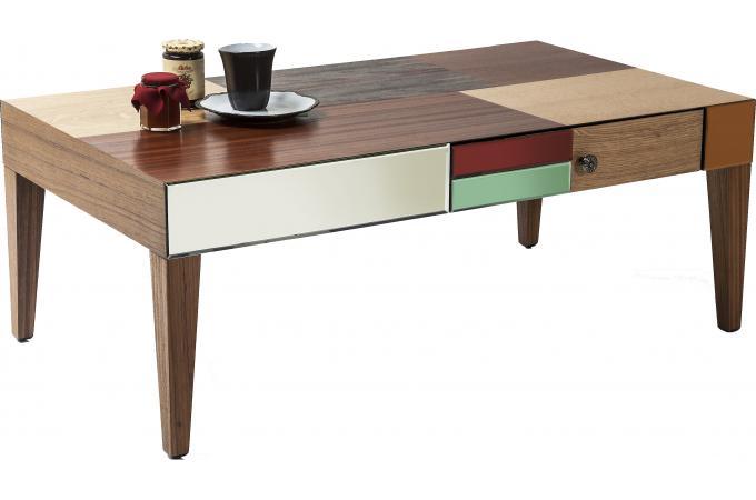 table basse metamorphosis 2 tiroirs table basse pas cher. Black Bedroom Furniture Sets. Home Design Ideas