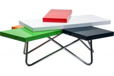 Table basse Micado Colore 105x94cm - Table design