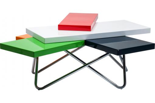 Table basse Micado Colore 105x94cm