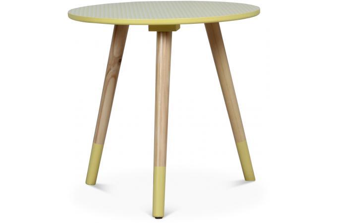 table basse style scandinave jaune d40xh40 teodor table. Black Bedroom Furniture Sets. Home Design Ideas
