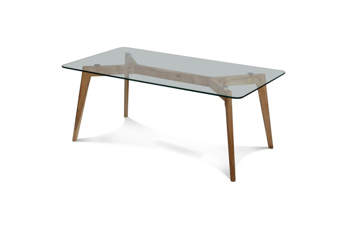 Table Basse Rectangulaire Verre Fiord Table Basse Pas Cher