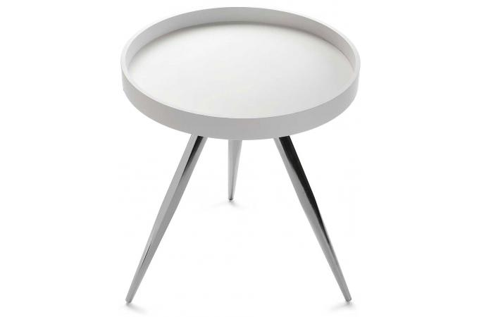 table basse ronde blanche nizak table basse pas cher. Black Bedroom Furniture Sets. Home Design Ideas