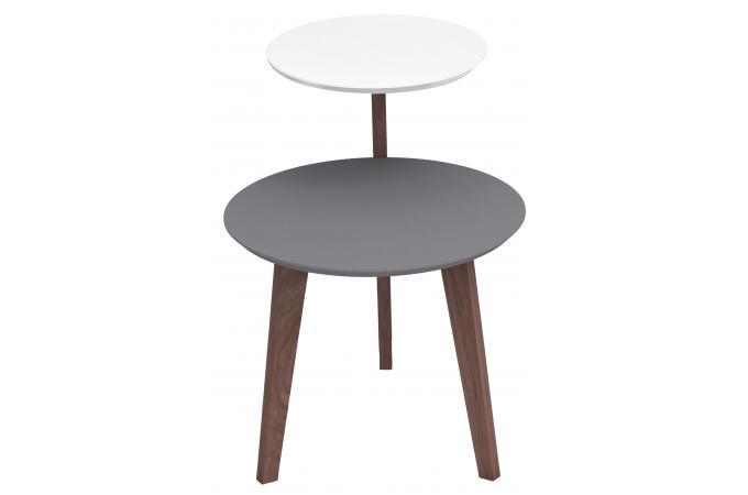 table basse scandinave la chaise longue avec double plateau pteris table basse pas cher. Black Bedroom Furniture Sets. Home Design Ideas