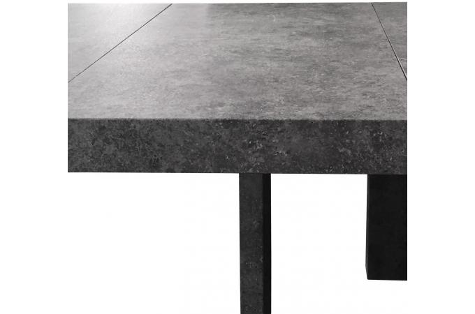 table console extensible effet b ton gris 3 rallonges nicky table console pas cher. Black Bedroom Furniture Sets. Home Design Ideas