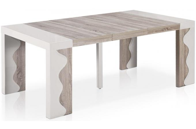 Console table extensible for Table laquee extensible