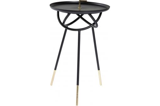 Table d'Appoint Noir