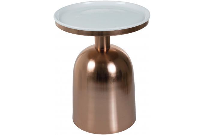 table d 39 appoint avec pi tement cuivr stato table d 39 appoint pas cher. Black Bedroom Furniture Sets. Home Design Ideas