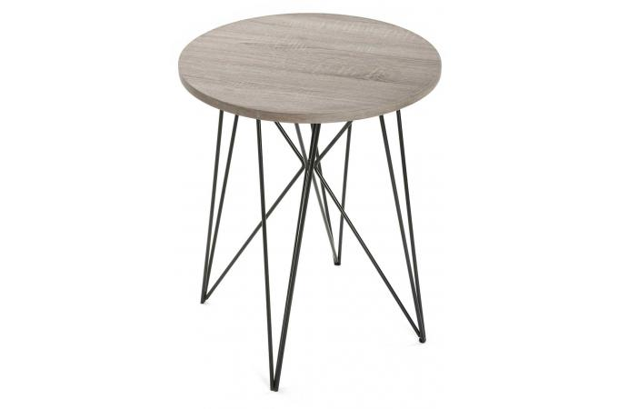 Table D Appoint Filaire Bois Metal Trabe Table D Appoint Pas Cher