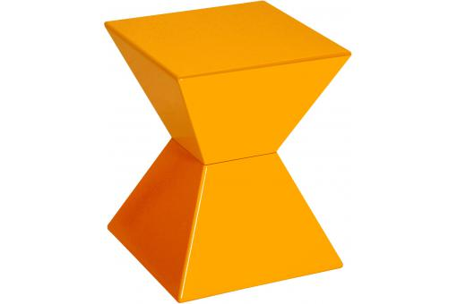 Table d'appoint orange CLESSIDRA