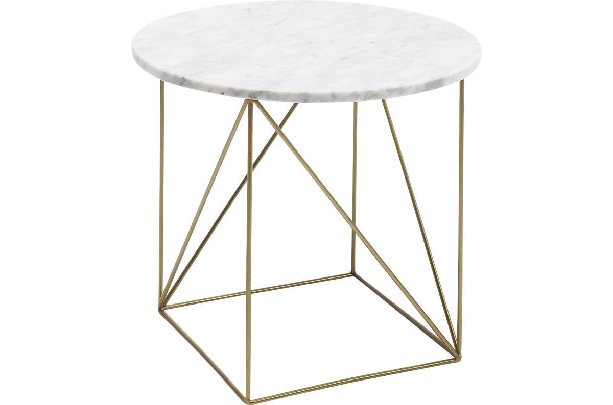 Table D Appoint Marbre Blanc Serafina Table D Appoint Pas Cher