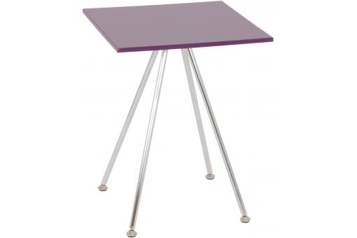 Table d'appoint mauve SIRA