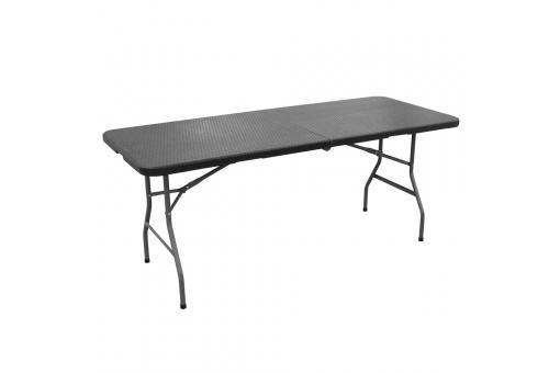 table manger pliable portable noire kaala table. Black Bedroom Furniture Sets. Home Design Ideas