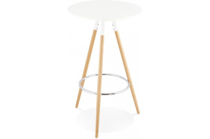 table de bar scandinave blanche rosna table de bar pas cher. Black Bedroom Furniture Sets. Home Design Ideas