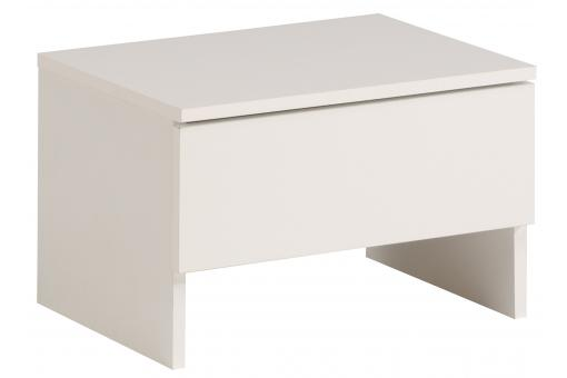 Table de chevet blanche stella