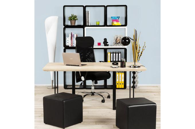 chevet design cube noir laqu tables de chevets pas cher. Black Bedroom Furniture Sets. Home Design Ideas