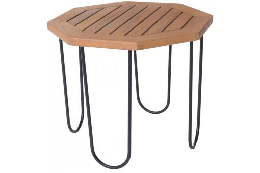 Table de Jardin Hexagonale Acacia SELMA - Table de jardin design