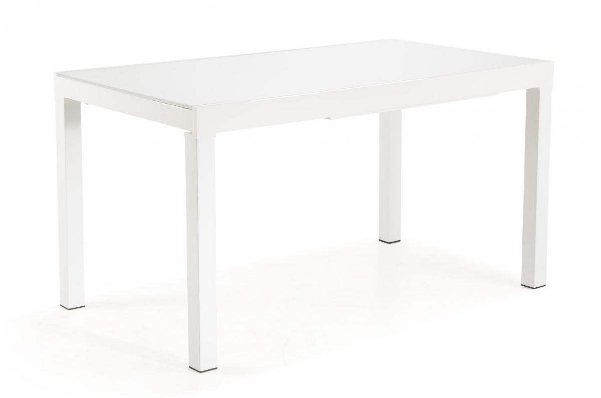 Table Extensible Verre Blanc SORIANA