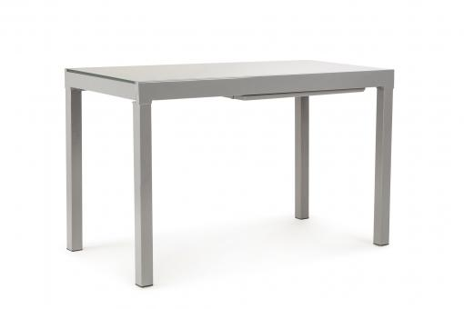 Table Extensible Verre Gris SORIANA