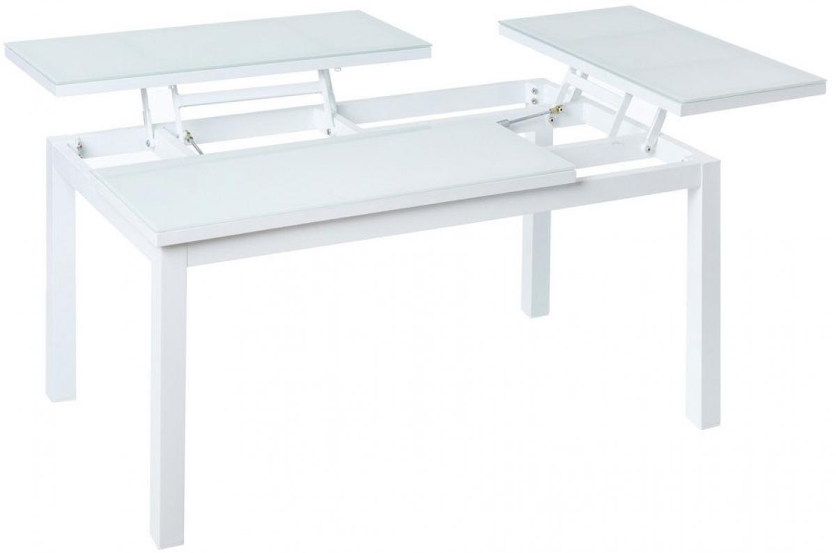 Table Rabattable Pour Cuisine table pliante extérieur aluminium blanche cyril plus d'infos