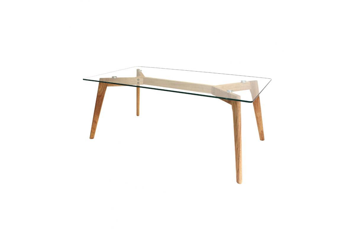 Table Rectangulaire En Verre FIORD Plus d\'infos