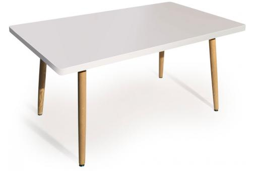 Table Rectangulaire Style Scandinave Blanc BLONDIE - Table design