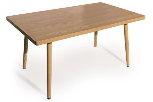 Table Rectangulaire Style Scandinave Frêne BLONDIE