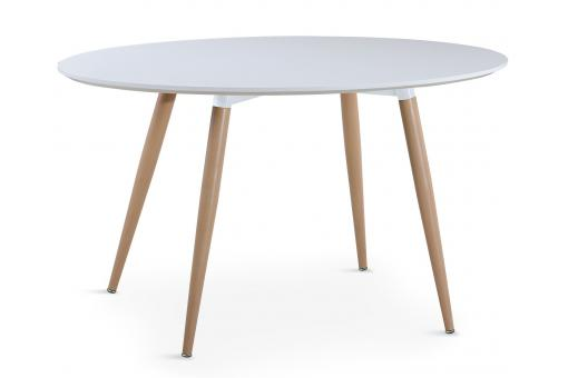 Table Ovale Scandinave Blanche WAEL - Table design