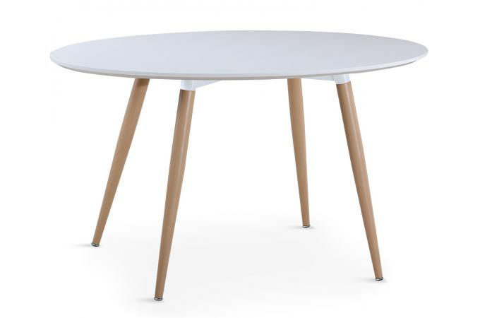 Table ovale scandinave blanche wael table manger pas cher for Table scandinave pas cher