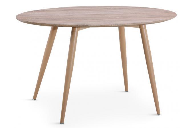 Ovale Chêne Wael Table Scandinave Effet EIYWD29H