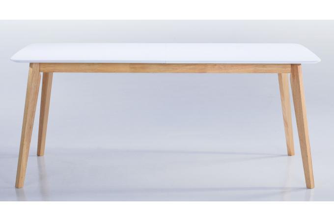 Table Scandinave Extensible Blanche 90x180/226 KABLI · Table à Manger ...