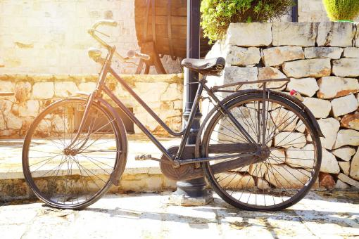 Tableau Bike Vintage Holiday L.80 x H.55 cm