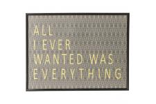 KARE DESIGN - Tableau Frame All I Ever Wanted LORI - Decoration murale design
