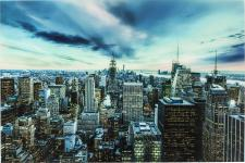 KARE DESIGN - Tableau Verre New York DEVON - Decoration murale design