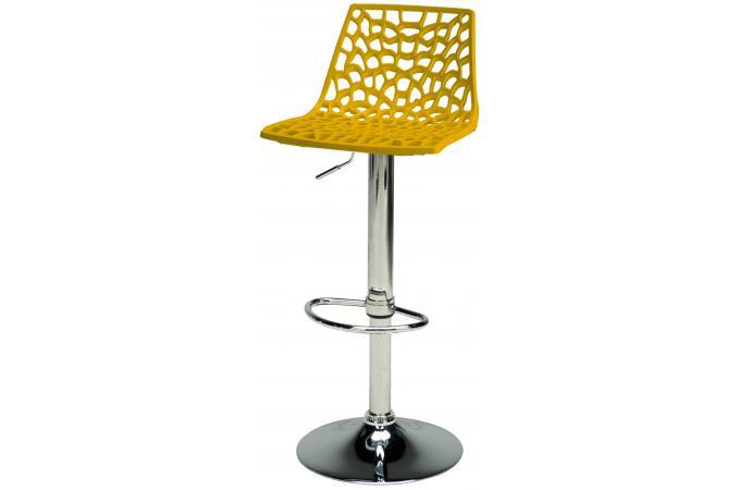 Tabouret de bar design jaune sparte tabouret de bar pas cher - Tabouret de bar jaune ...