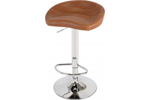 La chaise longue - Tabouret De Bar Club Marron