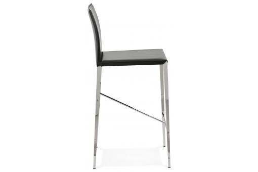 Tabouret de bar design DOUCEY blanc