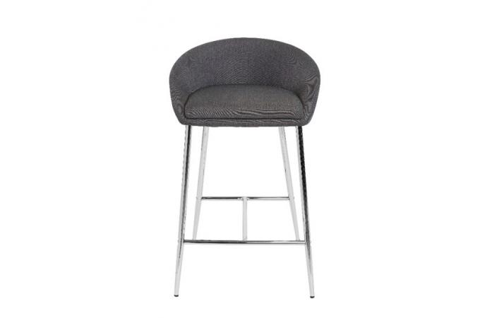 tabouret de bar gris nebuleuse tabouret de bar pas cher. Black Bedroom Furniture Sets. Home Design Ideas