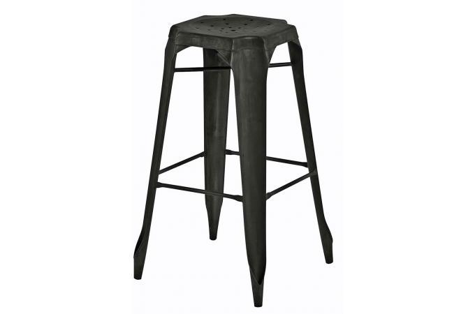 tabouret de bar industriel m tal kirk tabouret de bar pas cher. Black Bedroom Furniture Sets. Home Design Ideas