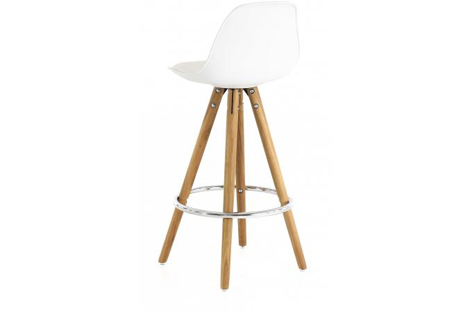 tabouret de bar scandinave blanc uma tabouret de bar pas cher. Black Bedroom Furniture Sets. Home Design Ideas