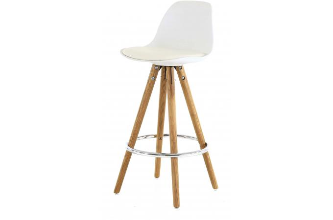 tabouret de bar scandinave blanc uma tabouret de bar pas. Black Bedroom Furniture Sets. Home Design Ideas