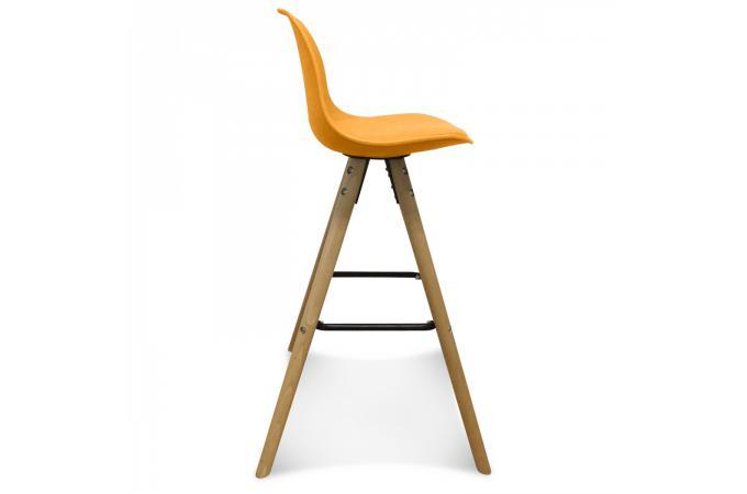 tabouret de bar scandinave jaune umai tabouret de bar. Black Bedroom Furniture Sets. Home Design Ideas