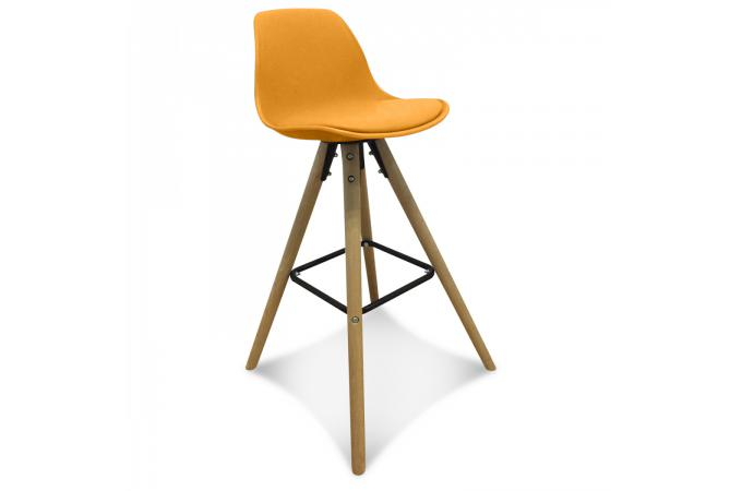 tabouret de bar scandinave jaune umai tabouret de bar pas cher. Black Bedroom Furniture Sets. Home Design Ideas