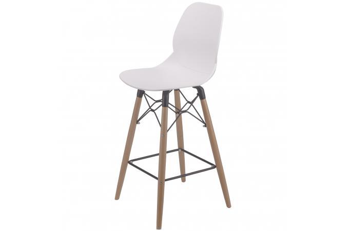 tabouret de bar scandinave la chaise longue blanc dionee tabouret de bar pas cher. Black Bedroom Furniture Sets. Home Design Ideas