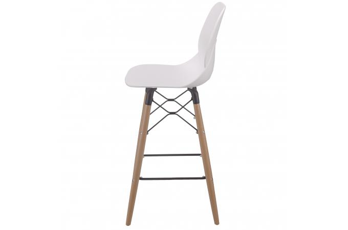 tabouret de bar scandinave la chaise longue blanc dionee tabouret de bar pas cher. Black Bedroom Furniture Sets. Home Design Ideas